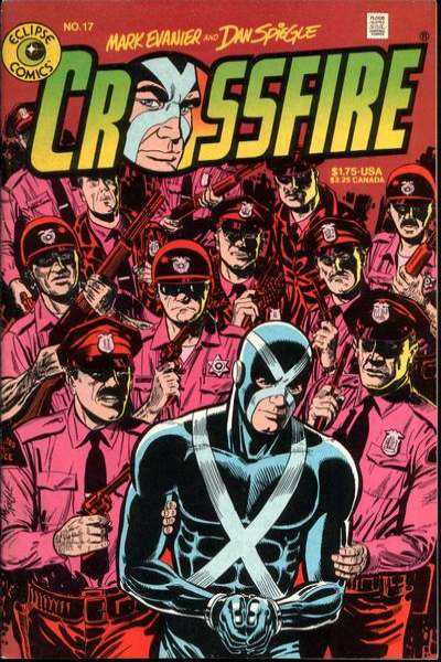 Crossfire #17 comic books for sale
