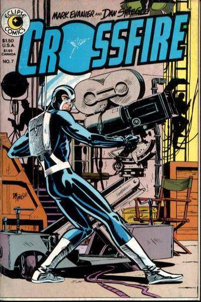 Crossfire #7 comic books for sale