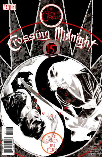 Crossing Midnight #15 comic books - cover scans photos Crossing Midnight #15 comic books - covers, picture gallery