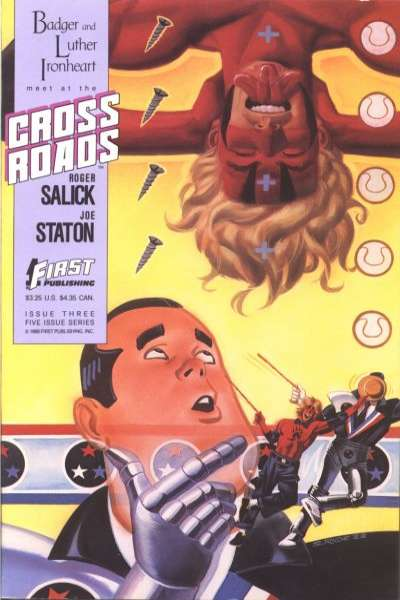 Crossroads #3 Comic Books - Covers, Scans, Photos  in Crossroads Comic Books - Covers, Scans, Gallery