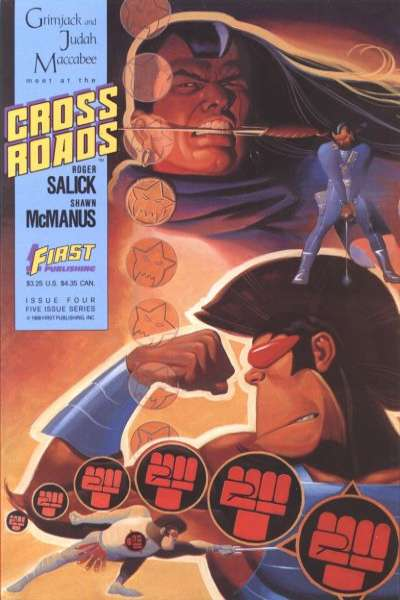 Crossroads #4 Comic Books - Covers, Scans, Photos  in Crossroads Comic Books - Covers, Scans, Gallery