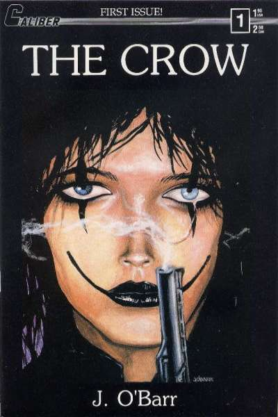 Crow comic books
