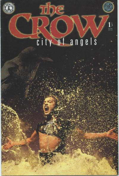 Crow: City of Angels #1 comic books for sale