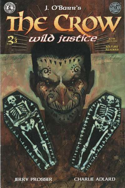 Crow: Wild Justice #3 comic books for sale