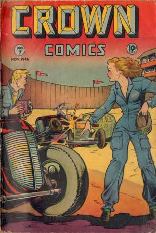 Crown Comics #7 comic books for sale