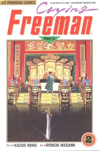 Crying Freeman: Part 2 #2 comic books for sale