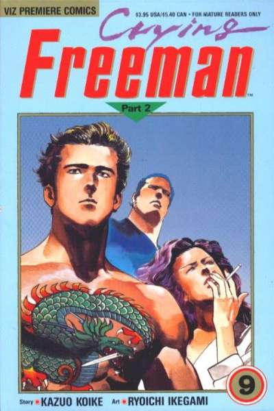 Crying Freeman: Part 2 #9 comic books for sale