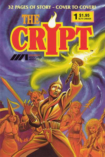 Crypt comic books