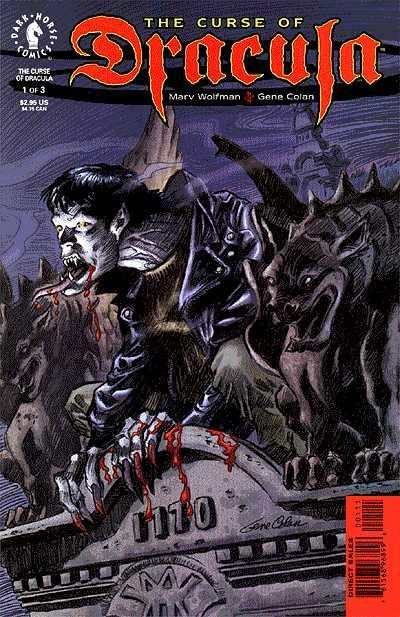 Curse of Dracula comic books
