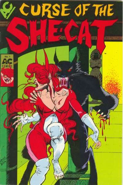 Curse of the She-Cat Comic Books. Curse of the She-Cat Comics.