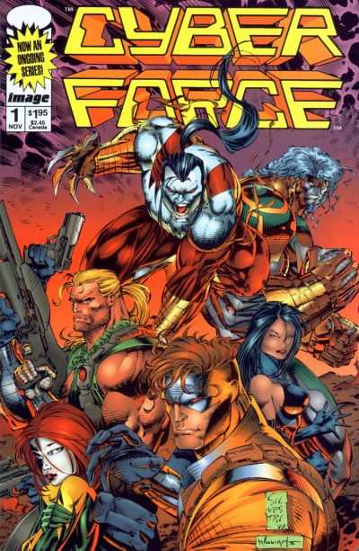 Cyberforce #1 comic books - cover scans photos Cyberforce #1 comic books - covers, picture gallery