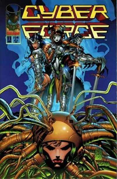 Cyberforce #11 comic books - cover scans photos Cyberforce #11 comic books - covers, picture gallery