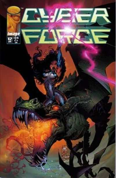Cyberforce #12 comic books - cover scans photos Cyberforce #12 comic books - covers, picture gallery