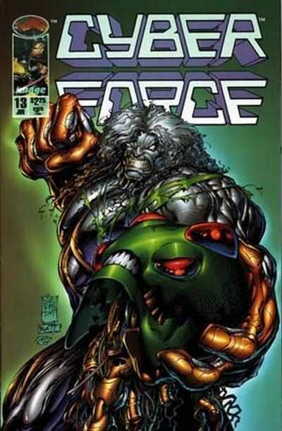 Cyberforce #13 comic books - cover scans photos Cyberforce #13 comic books - covers, picture gallery