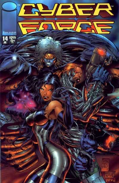 Cyberforce #14 comic books - cover scans photos Cyberforce #14 comic books - covers, picture gallery