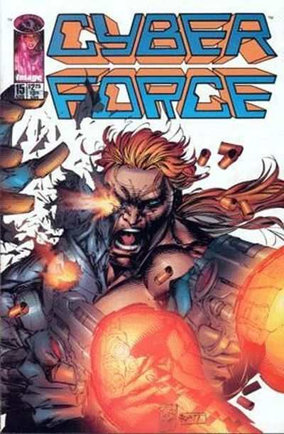 Cyberforce #15 comic books - cover scans photos Cyberforce #15 comic books - covers, picture gallery