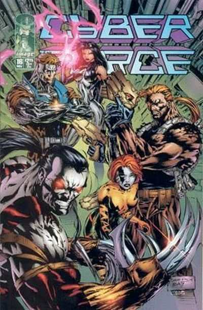 Cyberforce #16 comic books - cover scans photos Cyberforce #16 comic books - covers, picture gallery