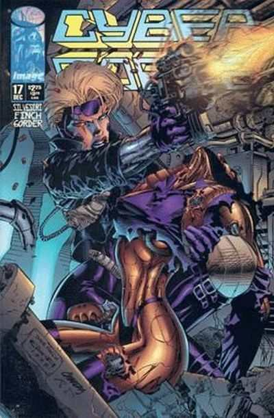 Cyberforce #17 comic books - cover scans photos Cyberforce #17 comic books - covers, picture gallery