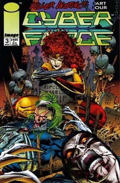 Cyberforce #3 comic books - cover scans photos Cyberforce #3 comic books - covers, picture gallery