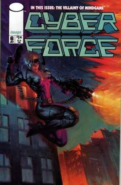 Cyberforce #6 comic books - cover scans photos Cyberforce #6 comic books - covers, picture gallery