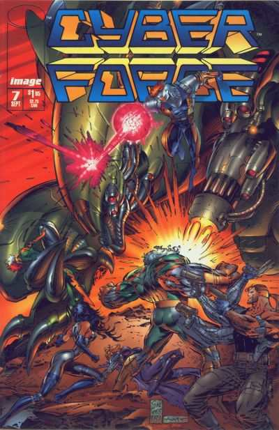 Cyberforce #7 comic books - cover scans photos Cyberforce #7 comic books - covers, picture gallery