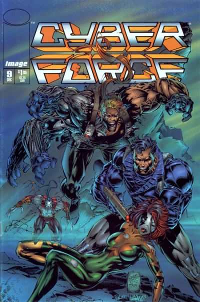 Cyberforce #9 comic books - cover scans photos Cyberforce #9 comic books - covers, picture gallery