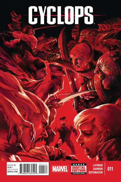 Cyclops #11 Comic Books - Covers, Scans, Photos  in Cyclops Comic Books - Covers, Scans, Gallery