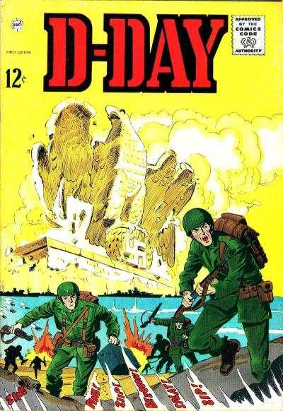 D-Day Comic Books. D-Day Comics.