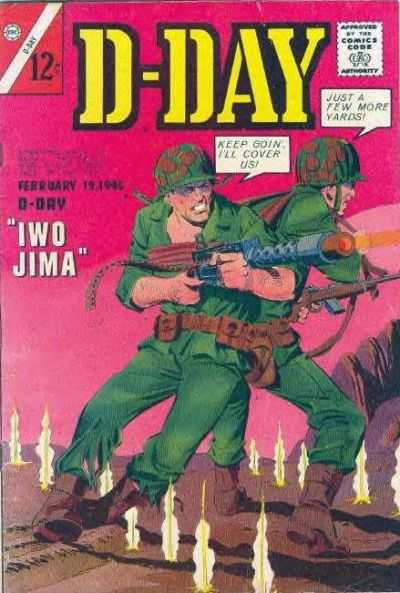 D-Day #2 Comic Books - Covers, Scans, Photos  in D-Day Comic Books - Covers, Scans, Gallery