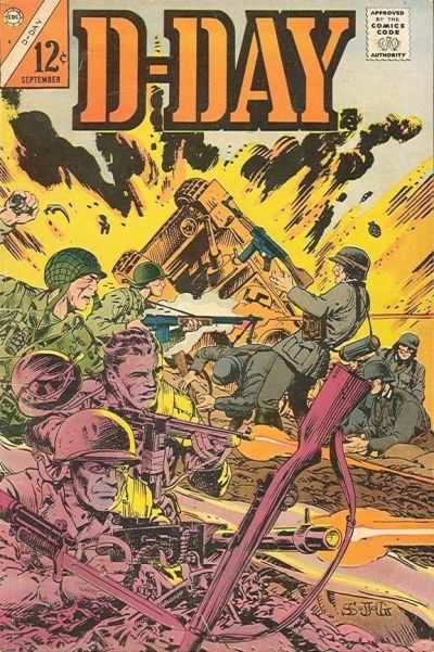 D-Day #4 Comic Books - Covers, Scans, Photos  in D-Day Comic Books - Covers, Scans, Gallery