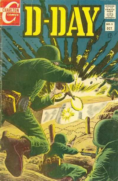 D-Day #5 Comic Books - Covers, Scans, Photos  in D-Day Comic Books - Covers, Scans, Gallery