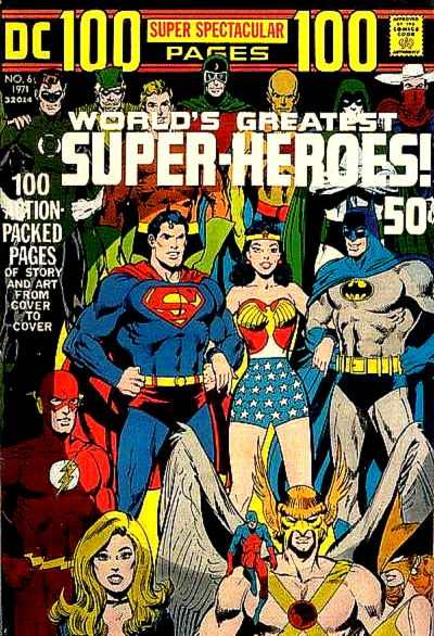 DC 100 Page Super Spectacular #6 comic books - cover scans photos DC 100 Page Super Spectacular #6 comic books - covers, picture gallery