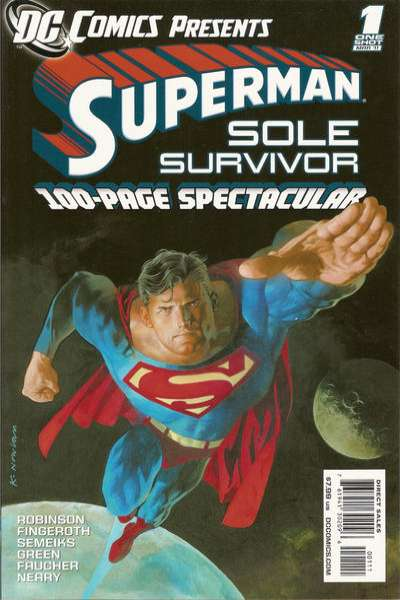 DC Comics Presents: Superman - Sole Survivor comic books