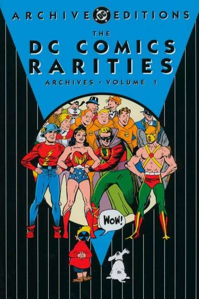 DC Comics Rarities Archives - Hardcover #1 comic books - cover scans photos DC Comics Rarities Archives - Hardcover #1 comic books - covers, picture gallery