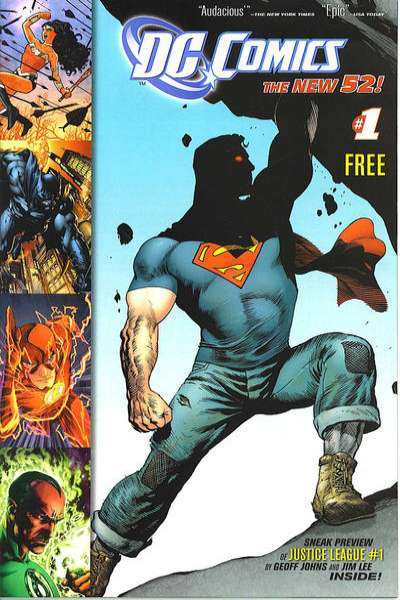 DC Comics: The New 52 #1 comic books for sale