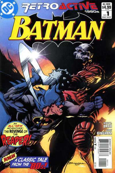 DC Retroactive: Batman - The 1980s #1 comic books - cover scans photos DC Retroactive: Batman - The 1980s #1 comic books - covers, picture gallery