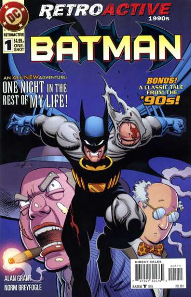 DC Retroactive: Batman - The 1990s Comic Books. DC Retroactive: Batman - The 1990s Comics.
