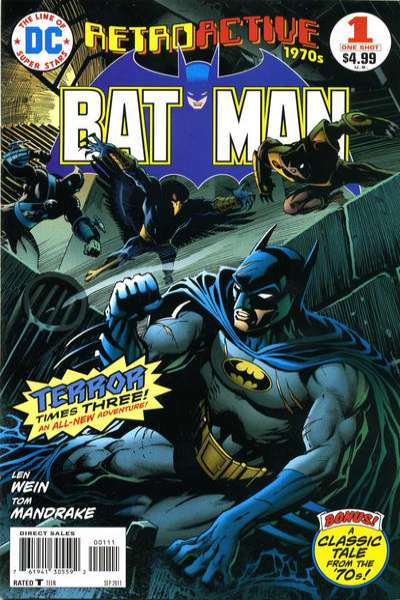 DC Retroactive: Batman - The 70's #1 comic books - cover scans photos DC Retroactive: Batman - The 70's #1 comic books - covers, picture gallery