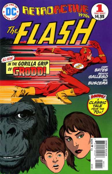 DC Retroactive: Flash - The 70's #1 comic books - cover scans photos DC Retroactive: Flash - The 70's #1 comic books - covers, picture gallery