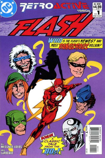 DC Retroactive: Flash - The 80's #1 comic books - cover scans photos DC Retroactive: Flash - The 80's #1 comic books - covers, picture gallery