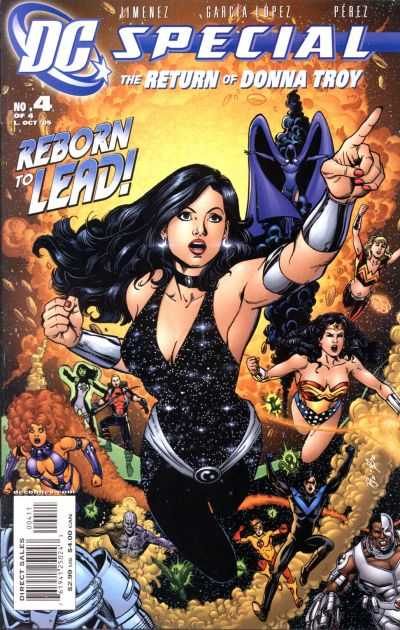 DC Special: The Return of Donna Troy #4 comic books - cover scans photos DC Special: The Return of Donna Troy #4 comic books - covers, picture gallery
