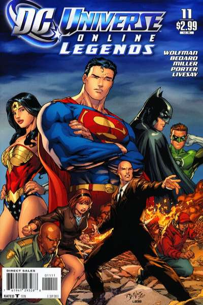 DC Universe Online Legends #11 comic books for sale