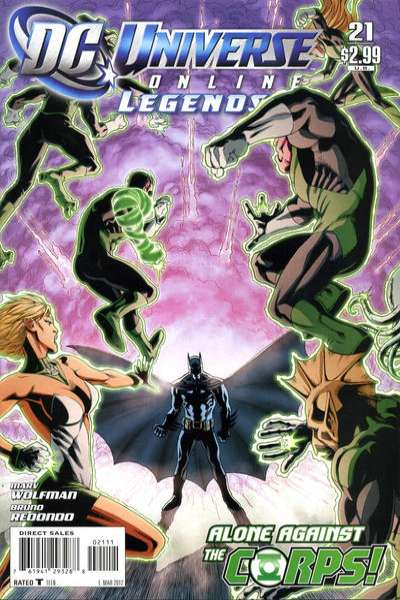 DC Universe Online Legends #21 comic books for sale
