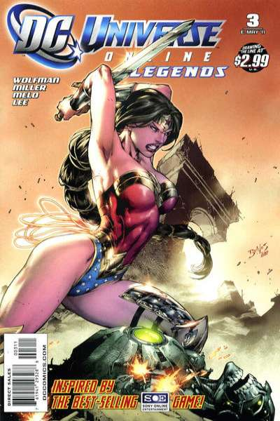DC Universe Online Legends #3 comic books for sale