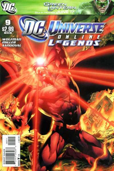 DC Universe Online Legends #9 comic books for sale