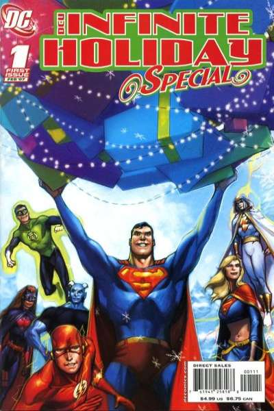 DCU Infinite Holiday Special Comic Books. DCU Infinite Holiday Special Comics.