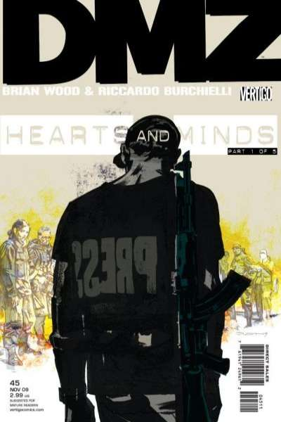 DMZ #45 comic books for sale