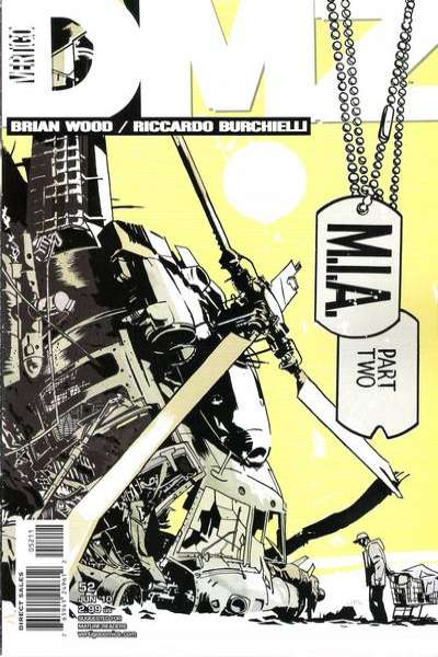 DMZ #52 Comic Books - Covers, Scans, Photos  in DMZ Comic Books - Covers, Scans, Gallery