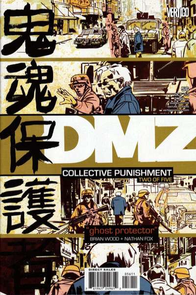 DMZ #56 comic books for sale
