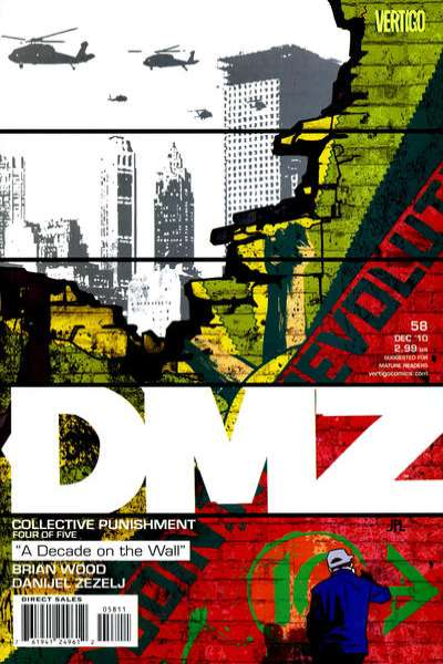 DMZ #58 comic books for sale